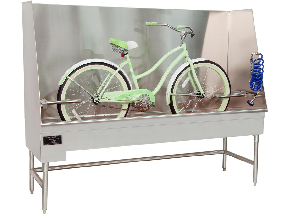 Bathtubs for Bicycles™ - Stainless Steel Bike Bathtubs